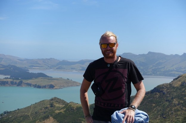 Ankunft in Neuseeland – Christchurch