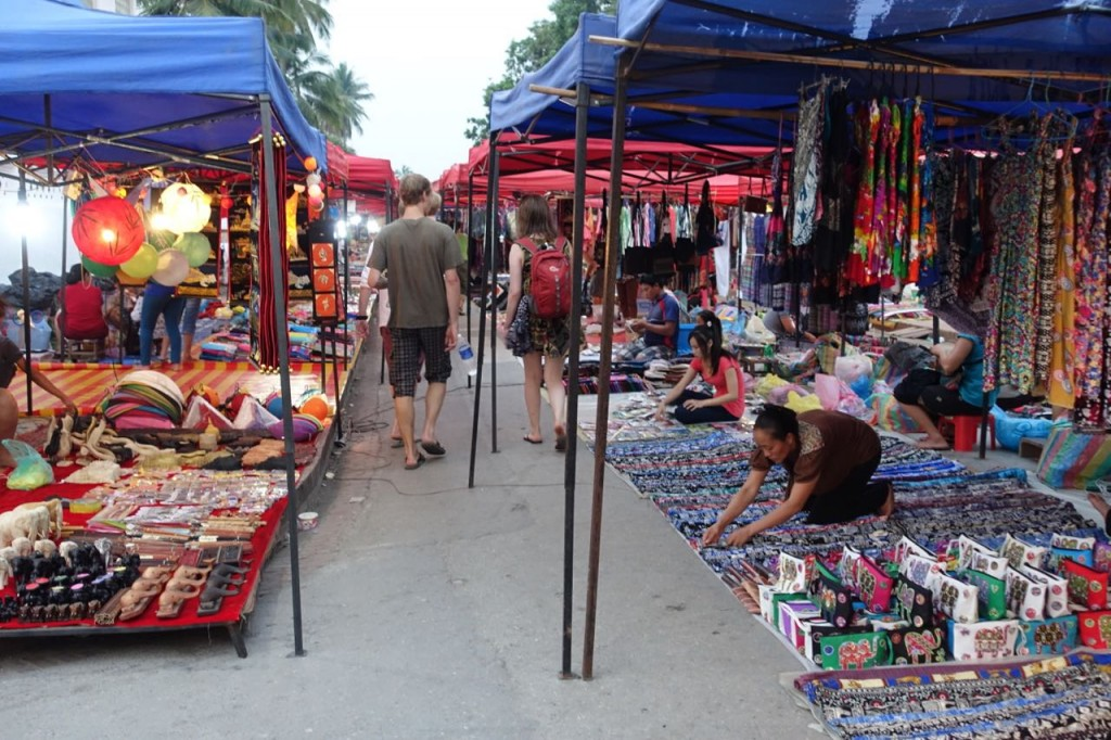 Markt - Luang Prabang